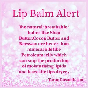 3 Reasons Why You Should Use Natural Lip Balm