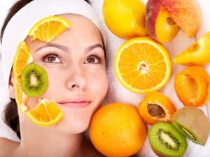 Natural homemade fruit facial masks